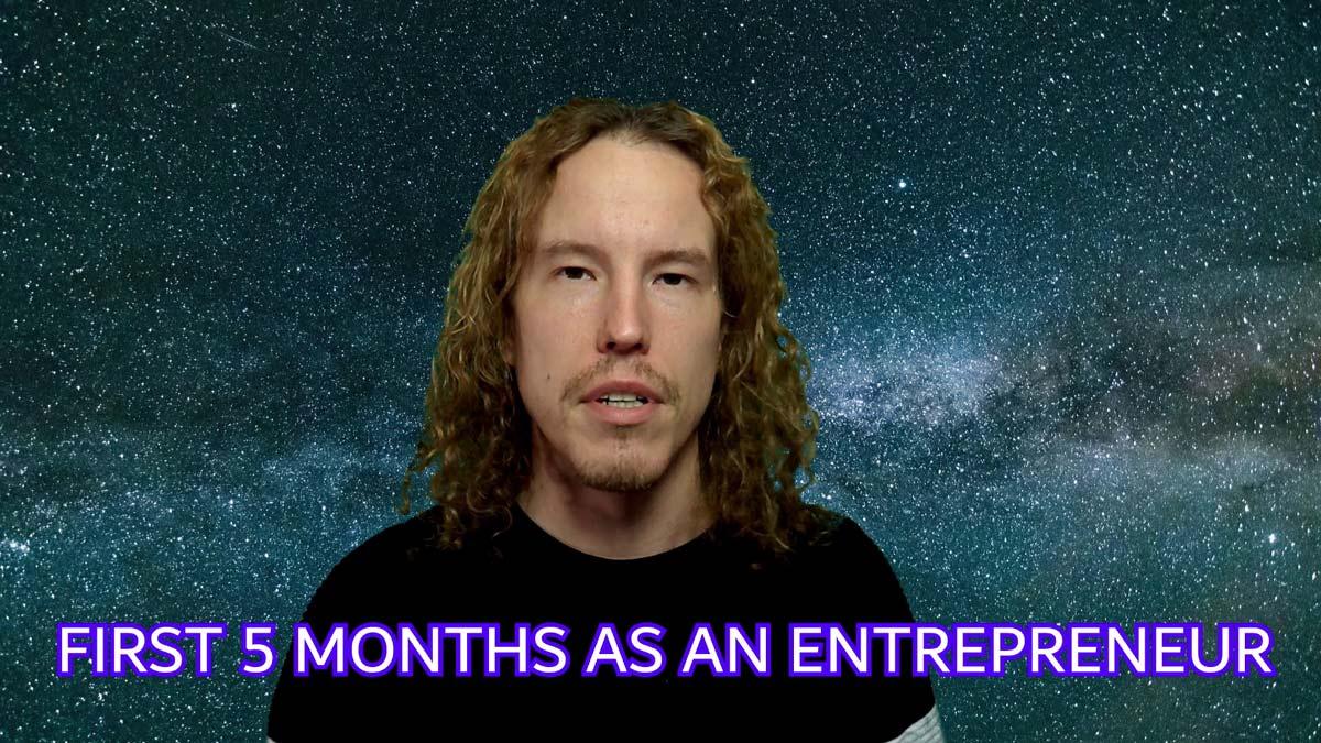 scriiv first months start-up